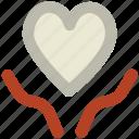 cardiology, charity, hands, health insurance, heart, love perception, save life