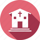 building, christian, church, religious icon