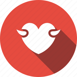 act, amendment, devil, heart, hell, love icon