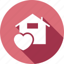 dream, family, heart, home, love, peace, warmth icon
