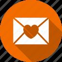 envelope, love, romantic icon