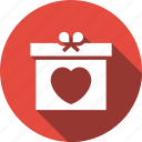 box, love, present, valentine icon
