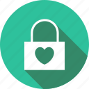 heart, key, lock, love, valentine, valentines icon