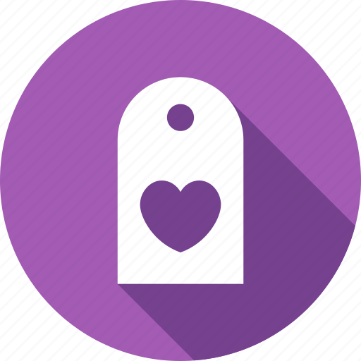 heart, label, love, shopping, valentine icon