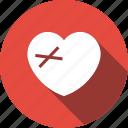 dumped, heart, heartbreaker, heartbroken icon