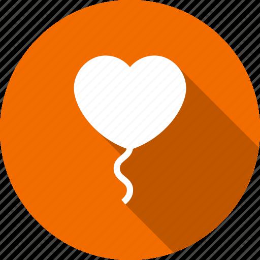 baloon, celebrate, celebration, heart, love, romantic icon