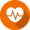 beat, electrocardiogram, healthcare, heart icon