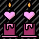 candle, candles, decoration, illumination, light, miscellaneous, ornamental icon