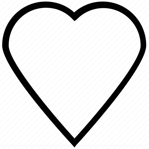 heart, like, love, love sign, valentine icon