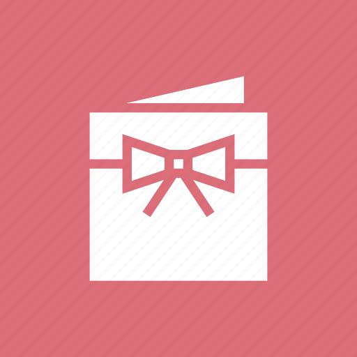 book, invitation, love, wedding icon