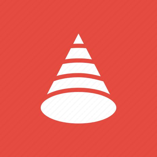 birthday, cap, cone icon