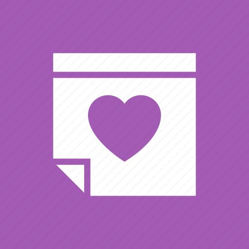 calendar, date, love, married, wedding icon