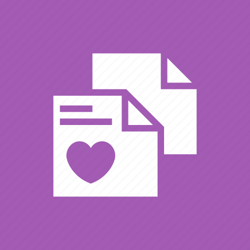 Favorite, files, heart, like, love, rate, valentine icon - Download on Iconfinder