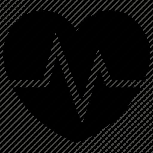 beat, electrocardiogram, healthcare, heart, heart beat icon icon