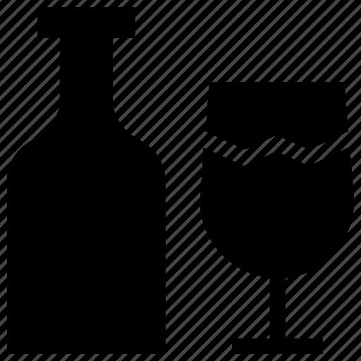 alcohol, celebration, drink, party, romance, wedding, wine icon icon
