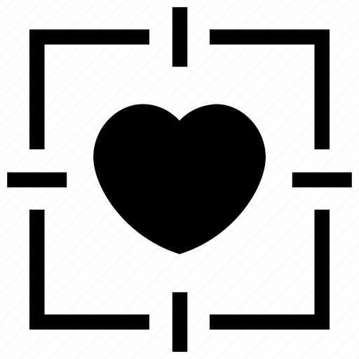 Favorite, heart, love, romantic, target icon icon - Download on Iconfinder
