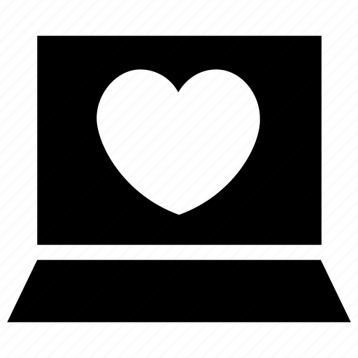 Computer, favourite, heart, laptop, like, love icon icon - Download on Iconfinder