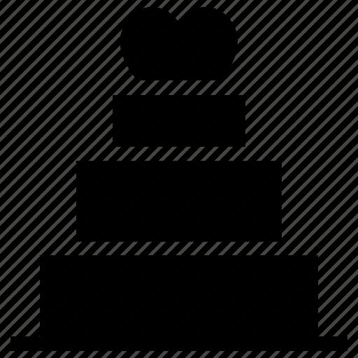 Cake, dessert, love cake, romantic cake, valentine cake icon icon - Download on Iconfinder