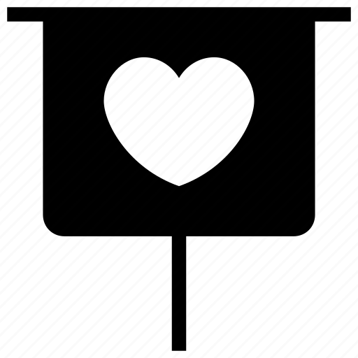 Chalkboard, greeting, heart board, love, romance icon icon - Download on Iconfinder