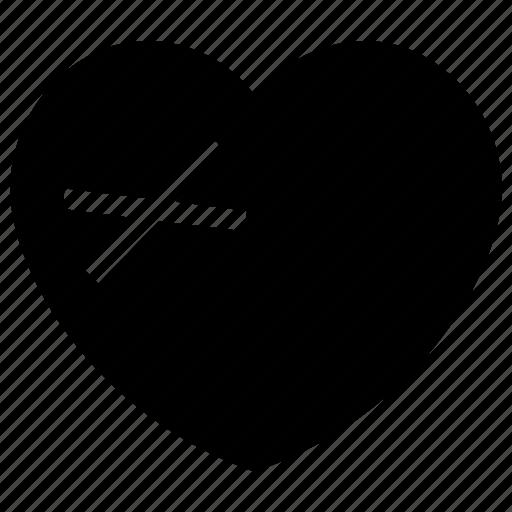 Break, dumped, heart, heartbreaker, heartbroken icon icon - Download on Iconfinder