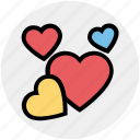 celebration, day, decoration, hearts, love, romantic, valentines icon
