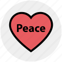 favorite, heart, love, peace, romantic, valentine, valentines icon