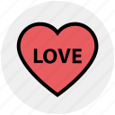 favorite, heart, love, romantic, valentine, valentines icon