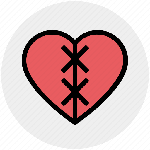 broken, broken heart, dating, heart, hurt, love, pain icon