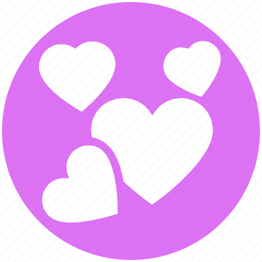 Celebration, day, decoration, hearts, love, romantic, valentines icon - Download on Iconfinder
