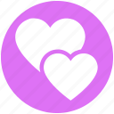 day, favorite, heart, love, mother and daughter, romantic, valentines icon