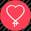 balloon, celebration, heart, love, love balloon, romantic, wedding balloon icon