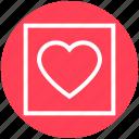 favorite, frame, heart, love, romantic, valentine, valentines