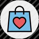 heart, valentine gift, love, hand bag, shopping bag, shopper bag, valentine shopping