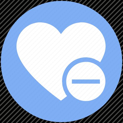 Favorite, heart, love, minus, romantic, valentine, valentines icon - Download on Iconfinder