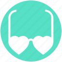 eyeglasses, glasses, heart glasses, love, style, sunglasses, valentine icon