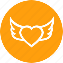 fly, love sign, romantic, heart bird, valentine day, heart shaped bird, wings