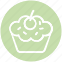 cake, cup, cupcake, dessert, food, pink, sweet
