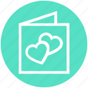 card, heart, love, love card, propose card, valentine card, valentine wishes icon