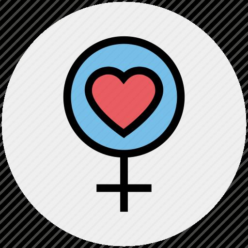 female, heart, love, passion, sex, woman icon