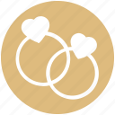 diamond rings, engagement, heart rings, jewelry, love, wedding, wedding rings icon