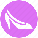 fashion, female shoe, girl shoe, heal, heal shoe, shoes, woman shoe icon