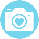 device, heart, photo, photo camera, photo shoot, photography, romantic icon