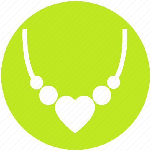 Heart, jewelry, locket, love, necklace, pearl, valentine icon - Download on Iconfinder