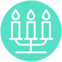 candle, candle holder, candlelight, candlelight dinner, candles, light, party icon