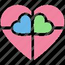 box, chocolate, gift, gift box, heart, heart shaped, love, present, present box icon