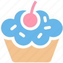 bread, cake, cup, cupcake, dessert, food, sweet icon