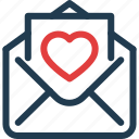 day, heart, letter, love, mail, valentine, valentines icon