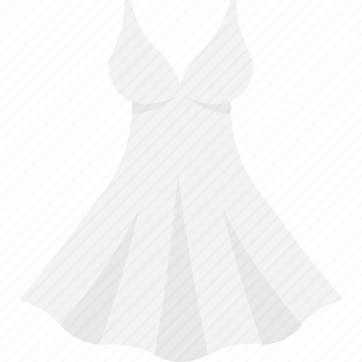 clothing, dress, party wear, wedding dress, wedding gown icon