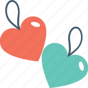 feeling, heart label, heart tags, love, romance icon