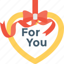 favorite, heart, heart gift, love icon